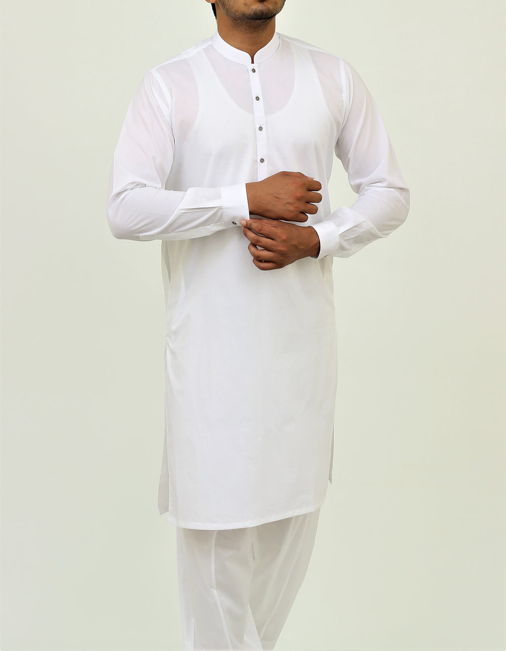 Simply White - Shalwar Qameez Liquid Finish