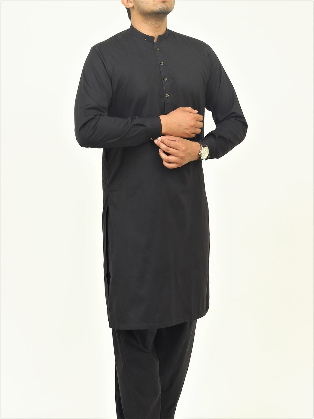 Simply Black - Shalwar Qameez Liquid Finish