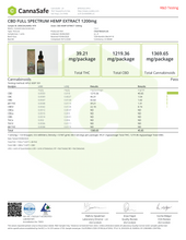 "Load image into Gallery viewer, Cheef 1200mg ""Full Spectrum"" CBD Oil Tinctures - Certified Hemp Hut"
