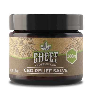 CBD Relief Salve 500mg, 1000mg - Certified Hemp Hut