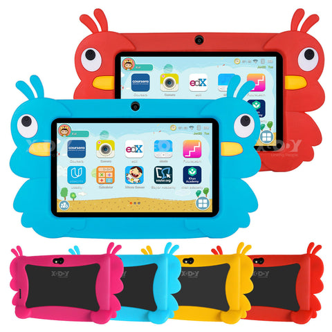 Adaz XGODY 7'' inch Quad Core HD Tablet Dual Cam WiFi Android 16GB Kids Gift