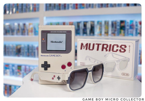 THESE CHIC RETRO-GLASSES ARE ACTUALLY A PAIR OF SMART GAMING HEADPHONES!