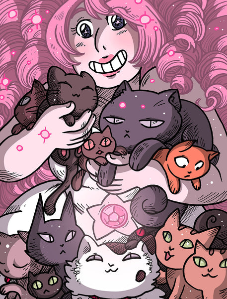 Rose and the Cats