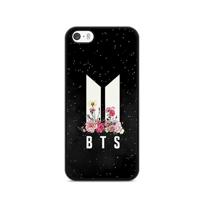 Army BTS Floral iPhone 5|5S|SE HÜLLE
