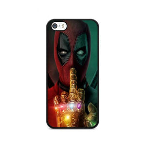 Deadpool Infinity Wars Glove Poster iPhone 5|5S|SE HÜLLE