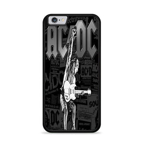 AC DC Black iPhone 6 | iPhone 6S HÜLLE - fingrei