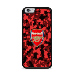 Arsenal FC Red Camo Camouflage iPhone 6 | iPhone 6S HÜLLE