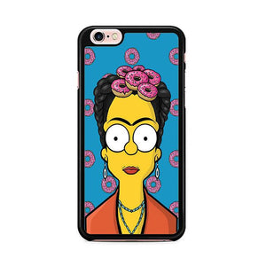 Bart Simpsons Frida Kahlo Donuts iPhone 6 Plus | iPhone 6S Plus HÜLLE