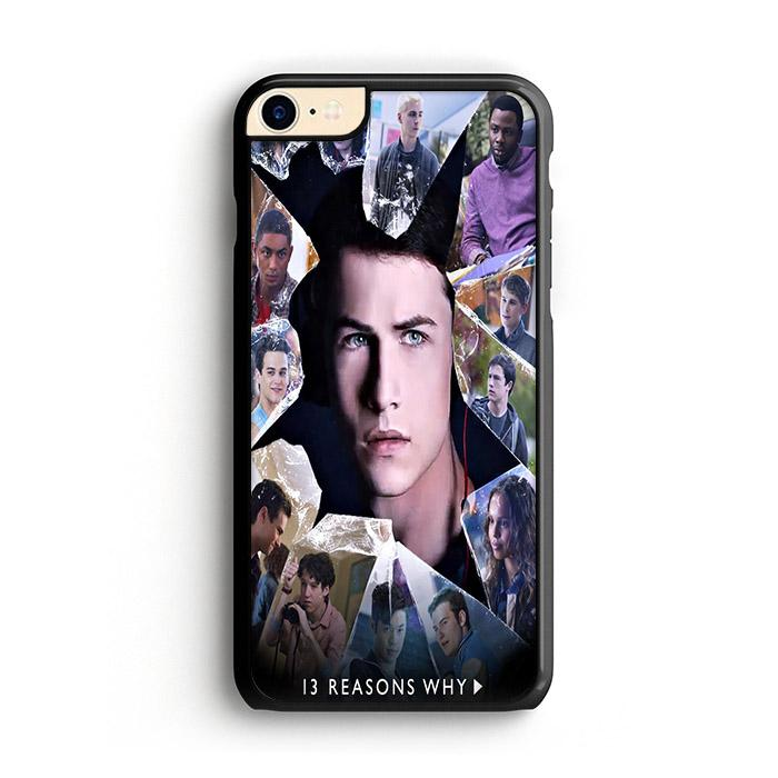 13 Reasons Why Cast iPhone 7 HÜLLE - fingrei