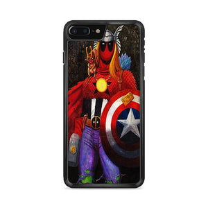 Deadpool The Super Avengers iPhone 7 HÜLLE Plus