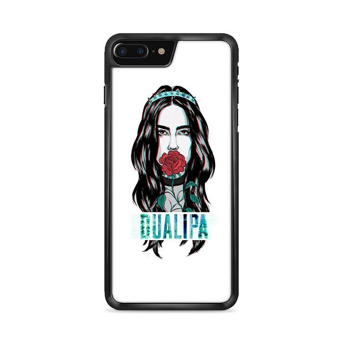 Dua Lipa Glitch Artwork iPhone 7 HÜLLE Plus