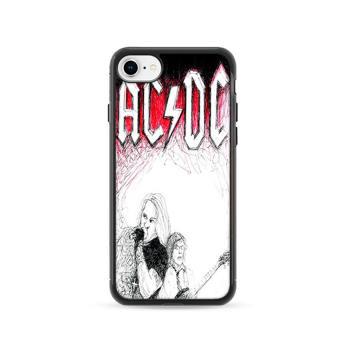 ACDC Band iPhone 8 HÜLLE
