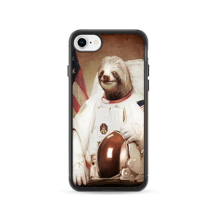 Astronaut Sloth iPhone 8 HÜLLE