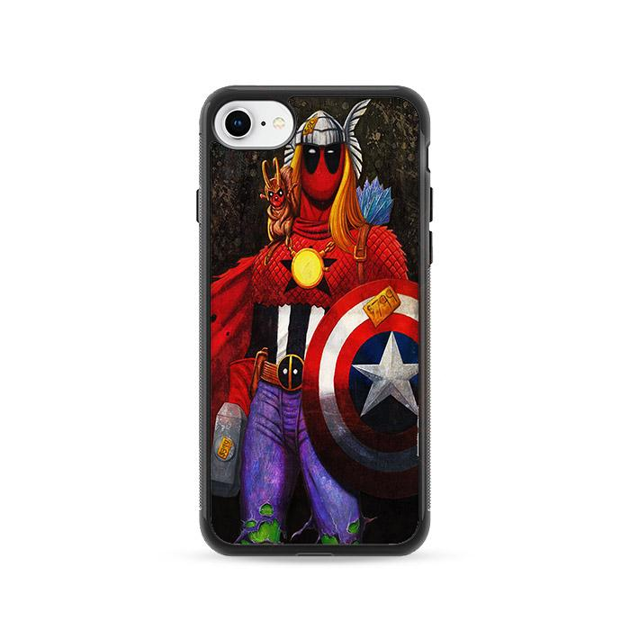 Deadpool The Super Avengers iPhone 8 HÜLLE