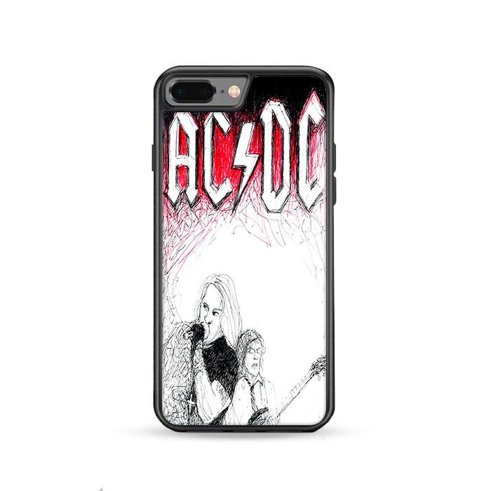 ACDC Band iPhone 8 Plus HÜLLE