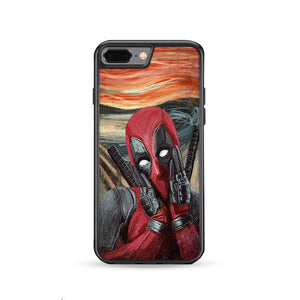 Deadpool Existence is Pain iPhone 8 Plus HÜLLE