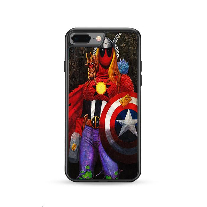 Deadpool The Super Avengers iPhone 8 Plus HÜLLE