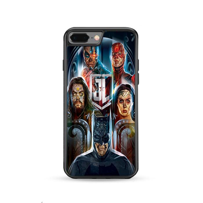 Dia de Los Muertos JUSTICE LEAGUE iPhone 8 Plus HÜLLE