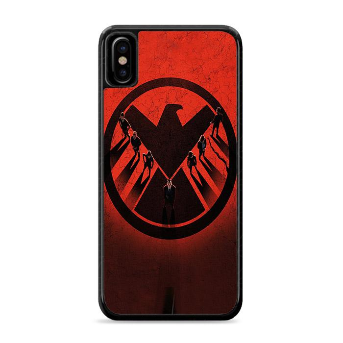 Agents of SHIELD iPhone XS Max HÜLLE