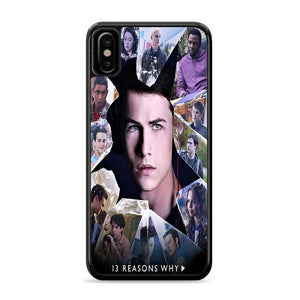 13 Reasons Why Cast iPhone XS Max HÜLLE
