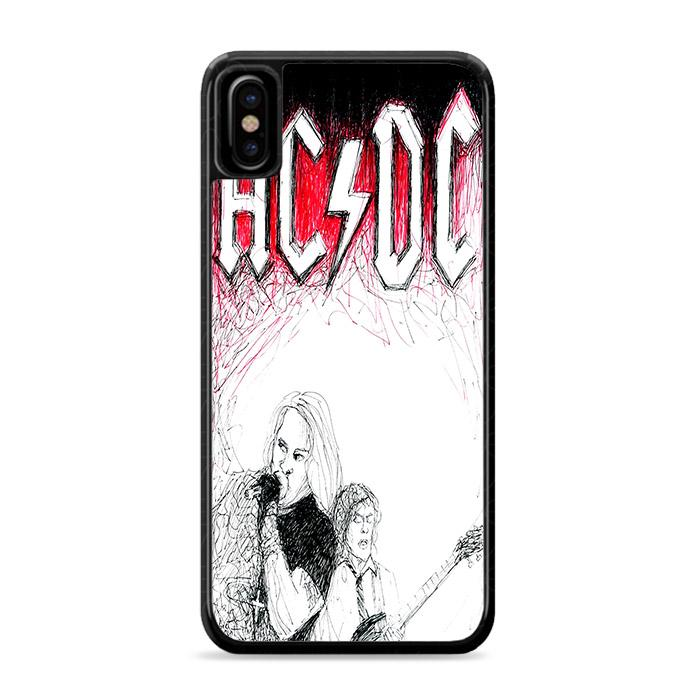 ACDC Band iPhone XS Max HÜLLE