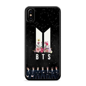 Army BTS Floral Festa iPhone X HÜLLE