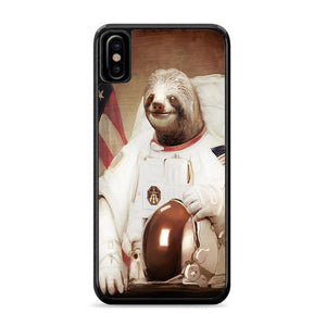 Astronaut Sloth iPhone XS HÜLLE