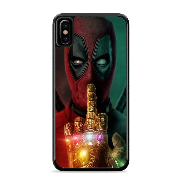 Deadpool Infinity Wars Glove Poster iPhone XS Max HÜLLE