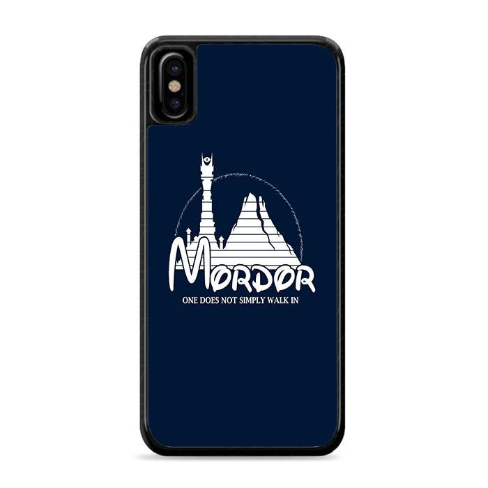 Disney Mordor iPhone X HÜLLE