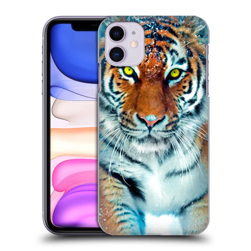 Aimee Stewart Animals Yellow Tiger iphone 5 6 7 8 plus x xs iphone 11 Pro Max HULLE