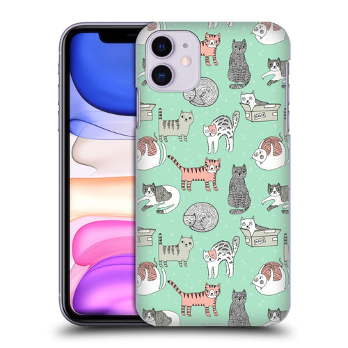Andrea Lauren Design Animals Cats iphone 5 6 7 8 plus x xs iphone 11 Pro Max HULLE