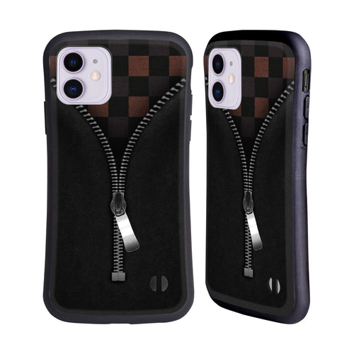 Alyn Spiller Zipped Checkered Hybrid iphone 5 6 7 8 plus x xs iphone 11 Pro Max HULLE