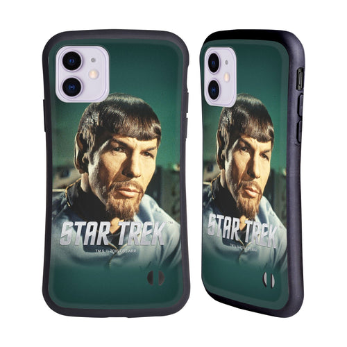 Star Trek Spock Mirror Hybrid iphone 5 6 7 8 plus x xs iphone 11 Pro Max HULLE