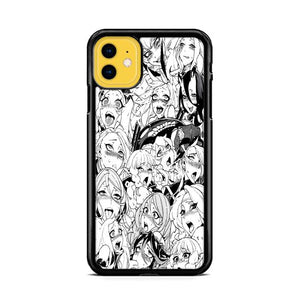 Ahegao Pervert Girls Manga iPhone 11 HÜLLE