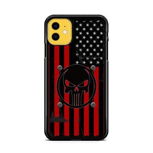 American Flag Punisher iPhone 11 HÜLLE