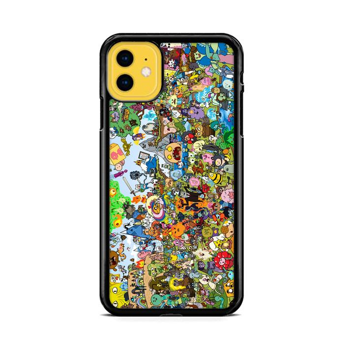 Adventure Time All Characters iPhone 11 HÜLLE