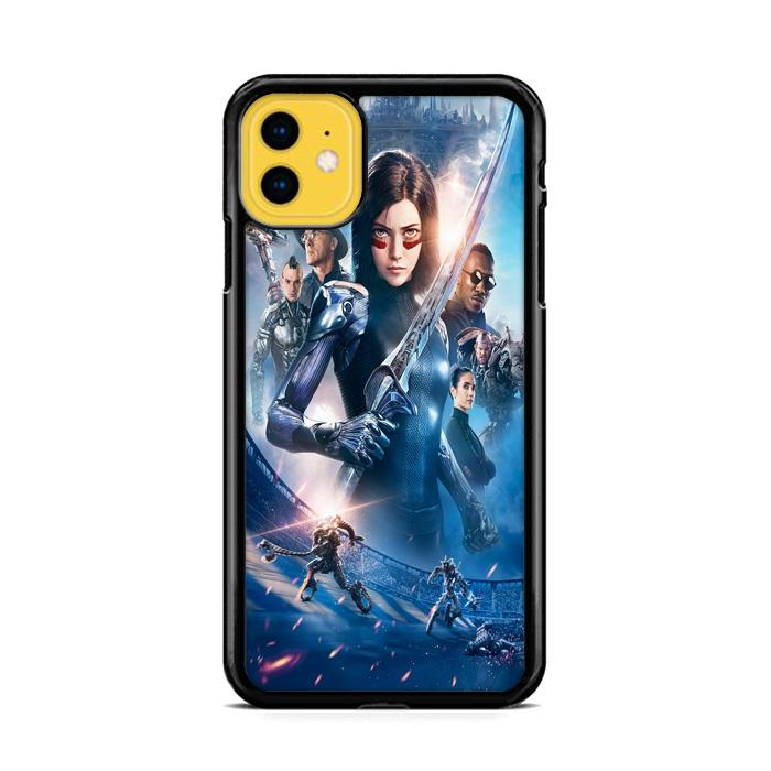 Alita Battle Angel Poster iPhone 11 HÜLLE