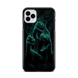 Dan Mumford Raptor Dinosaurs Art iPhone 11 HÜLLE Pro Cases