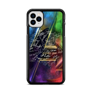 Avengers Heroes Signatures iPhone 11 HÜLLE Pro Cases