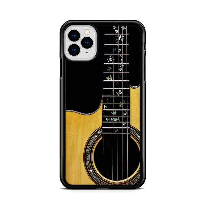 Acoustic Guitar iPhone 11 HÜLLE Pro Cases - fingrei