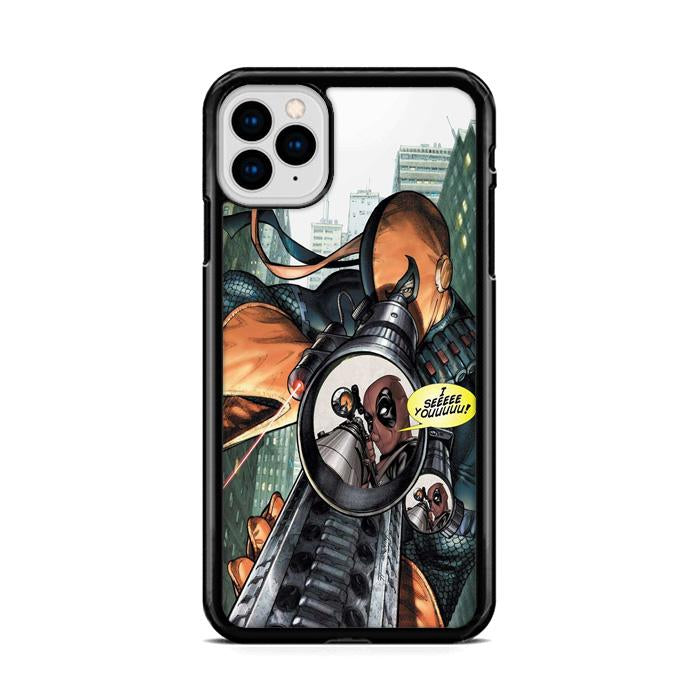 Deathstroke And Deadpool Scope iPhone 11 HÜLLE Pro Cases