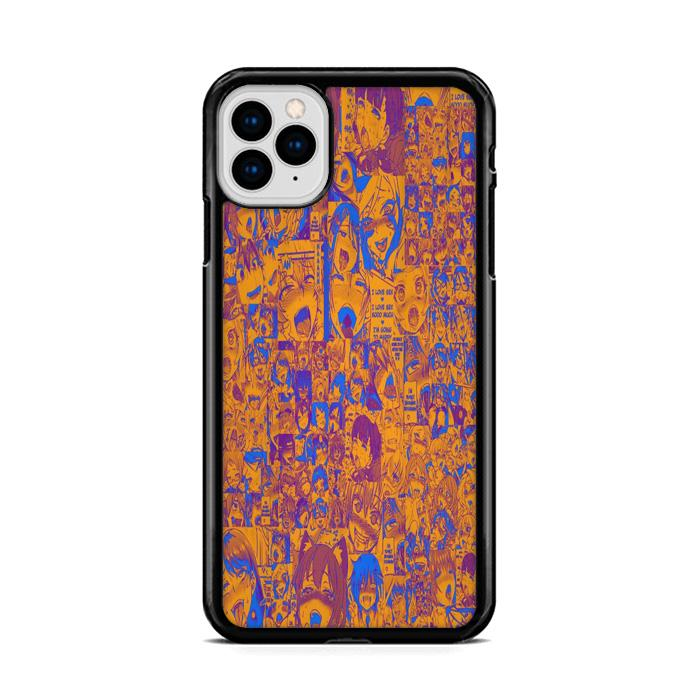 Ahegao Pervert Mix iPhone 11 HÜLLE Pro Cases