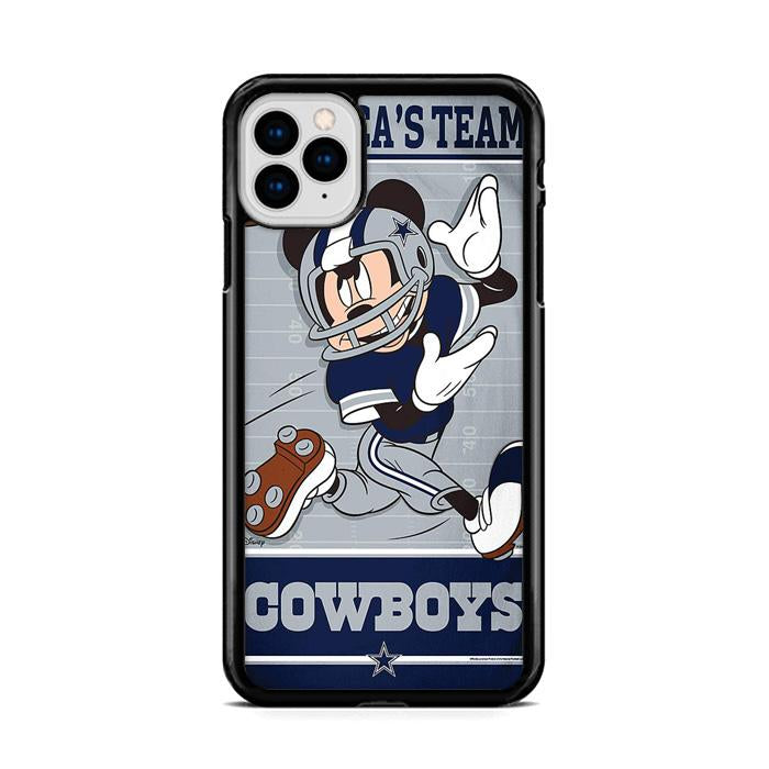 Dallas Cowboys Giants Disney Mickey Mouse NFL iPhone 11 HÜLLE Pro Cases