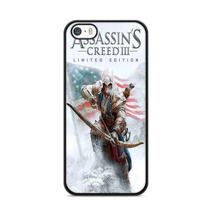 Assassin Creed 3 Poster iPhone 5|5S|SE HÜLLE