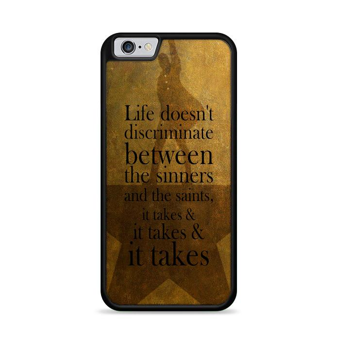 Alexander Hamilton It Takes Quotes iPhone 6 | iPhone 6S HÜLLE