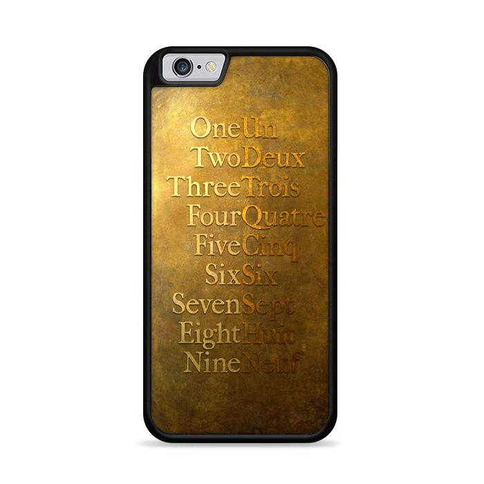 American Musical Hamilton One To Nine iPhone 6 | iPhone 6S HÜLLE