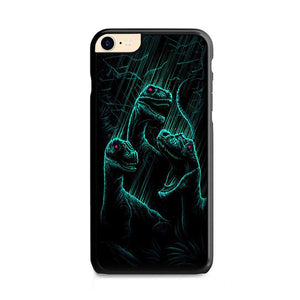Dan Mumford Raptor Dinosaurs Art iPhone 8 HÜLLE