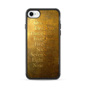 American Musical Hamilton One To Nine iPhone 7 Cases | Rowlingcase