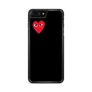 Bape Heart Black iPhone 8 Plus HÜLLE