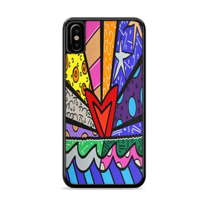Art Britto Love iPhone XS HÜLLE